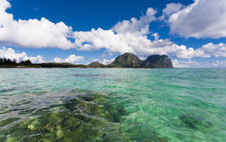 Tropcial Island Paradise Stock Photography