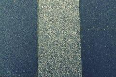 Tropeço da estrada Foto de Stock