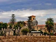 Tropea教会 库存图片