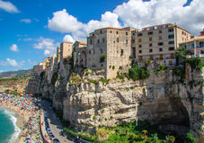 Tropea, Ιταλία Στοκ φωτογραφίες με δικαίωμα ελεύθερης χρήσης