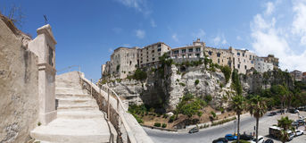 Tropea, Калабрия, южная Италия, Италия, Европа Стоковое Изображение RF