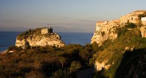 tropea моря Италии свободного полета Стоковое фото RF