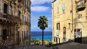 Tropea, Calabre - Italie Images libres de droits