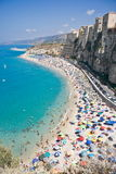 Tropea in Calabria, Italy. View of Tropea in Calabria, Italy royalty free stock photos