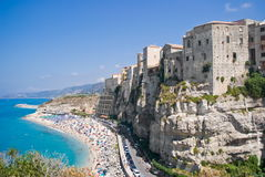 Tropea in Calabria, Italy Royalty Free Stock Photos