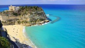Tropea Calabria, Włochy, - Zdjęcie Royalty Free