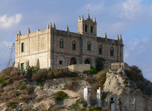 Tropea church S. Maria Royalty Free Stock Images