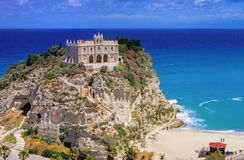 Tropea church Royalty Free Stock Photo