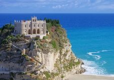 Tropea church Royalty Free Stock Image