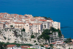 Tropea en la región de Calabria de Italia meridional Imagen de archivo libre de regalías