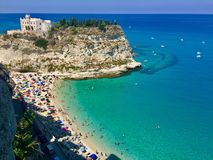 Tropea, italy royalty free stock images