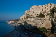 Tropea jest kurortem nadmorskim obrazy royalty free