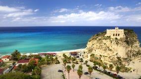 Tropea, Kalabrien - Italien Stockbilder