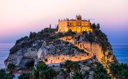 Tropea, Kalabrien, Italien Stockfotografie