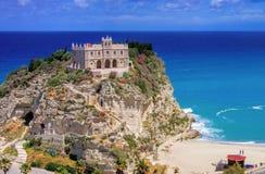 Tropea-Kirche Lizenzfreies Stockfoto