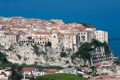 Tropea na região de Calabria de Itália do sul Imagens de Stock