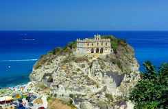 Tropea palace. Beautiful palace in Tropea, Calabria, Southern Italy Stock Photos