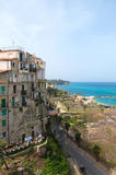 Tropea a small beautiful city in Calabria Royalty Free Stock Photography