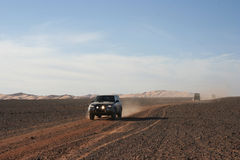 Tropece a Líbia, safari do deserto em Murzuk Imagem de Stock