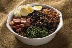 Tropeiro bean. Traditional brazilian food. Tropeiro bean. Traditional brazilian food stock images