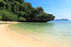 Tropeninsel-Paradies, Koh Pakbia, Krabi, Thailand Stockbild