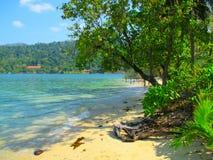 Tropeninsel-Strand Koh Rong, Kambodscha Lizenzfreie Stockbilder