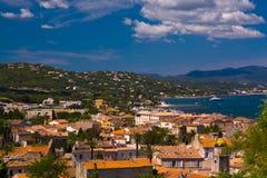 tropez святой Франции стоковое фото rf