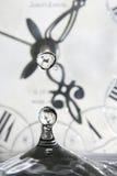 Tropfen der Zeit Stockbilder