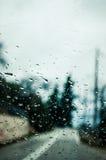 Tropfen des Regens Stockbild