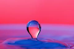Tropfen des Wassers Stockbild