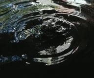 Tropfen des Wassers Stockfoto