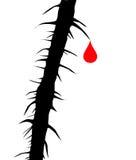 Tropfenblut Stock Abbildung