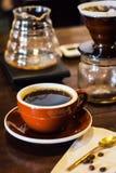 Tropfenfänger-Kaffee Lizenzfreie Stockfotos