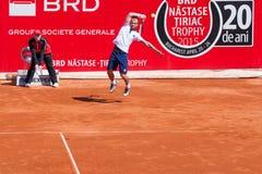 Trophäe 2015 BRD Nastase Tiriac - Qualifikation Stockbilder