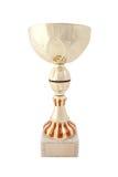 Trophée d'or Images libres de droits