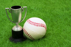 Trophée de base-ball photographie stock libre de droits