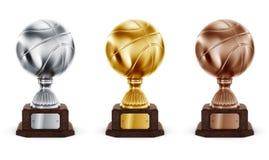 trophée de basket-ball Photo libre de droits