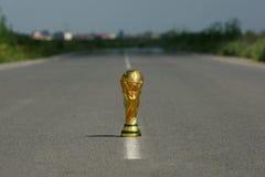 Trophée de coupe du monde Photos libres de droits