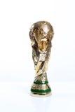 Trophée de coupe du monde Image libre de droits