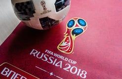 Trophée de coupe du monde de la FIFA photo stock