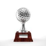 Trophée de golf Photographie stock libre de droits