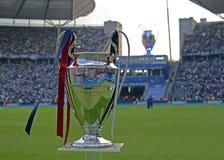 Trophée de l'UEFA Champions League Images stock