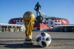 Trophée de la coupe du monde de la FIFA image stock