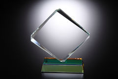 Trophée en cristal photos stock
