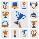 Trophée et récompenses Photos stock