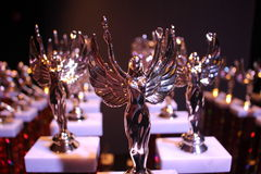 trophées Photographie stock libre de droits