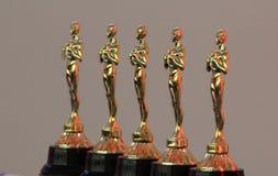 Trophées d'or Image libre de droits