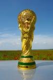 Trophée de coupe du monde Images libres de droits