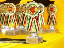 Trophies Stock Photography