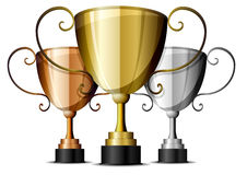 Trophies Royalty Free Stock Images